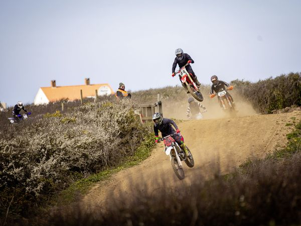 Picture by Sophie Rabey.  17-04-21.  Motocross Action at Pleinmont. (29451167)