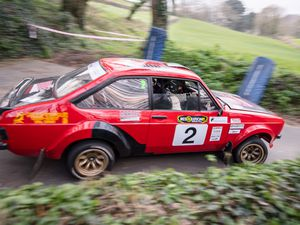 On his way to the 2018 Resolution IT Guernsey Rally win, Jersey's Ross Le Noa and navigator Dominic Volante drop down into a valley on the St Andrew's stage.(Picture by Andrew Le Poidevin, 27205876)