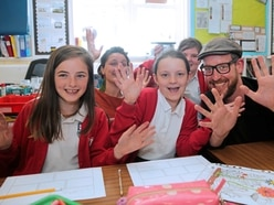 Lit fest comic workshop is a big draw for pupils