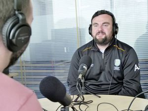 Elizabeth College head of hockey and Guernsey men's hockey coach Andy Good as guest on the Guernsey Press Sport Podcast..Picture by Gareth Le Prevost 01-04-21.. (29396434)