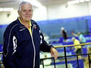 Driving force: Table tennis was 'bumbling along' when Derek Webb took over as GTTA president 18 years ago. (20283856)