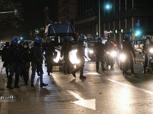 Protests in Italy over virus restrictions