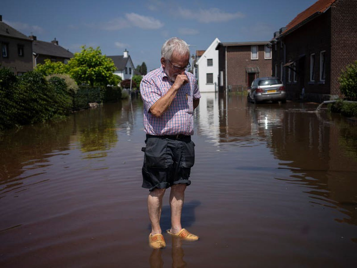 Hard-hit Dutch town faces a 400 million euro flood damage bill