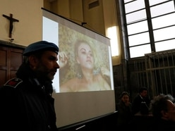 Court video shows British kidnapping case model retracing movements