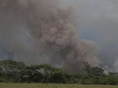 Ash danger for aircraft amid fresh volcano emergency in Guatemala