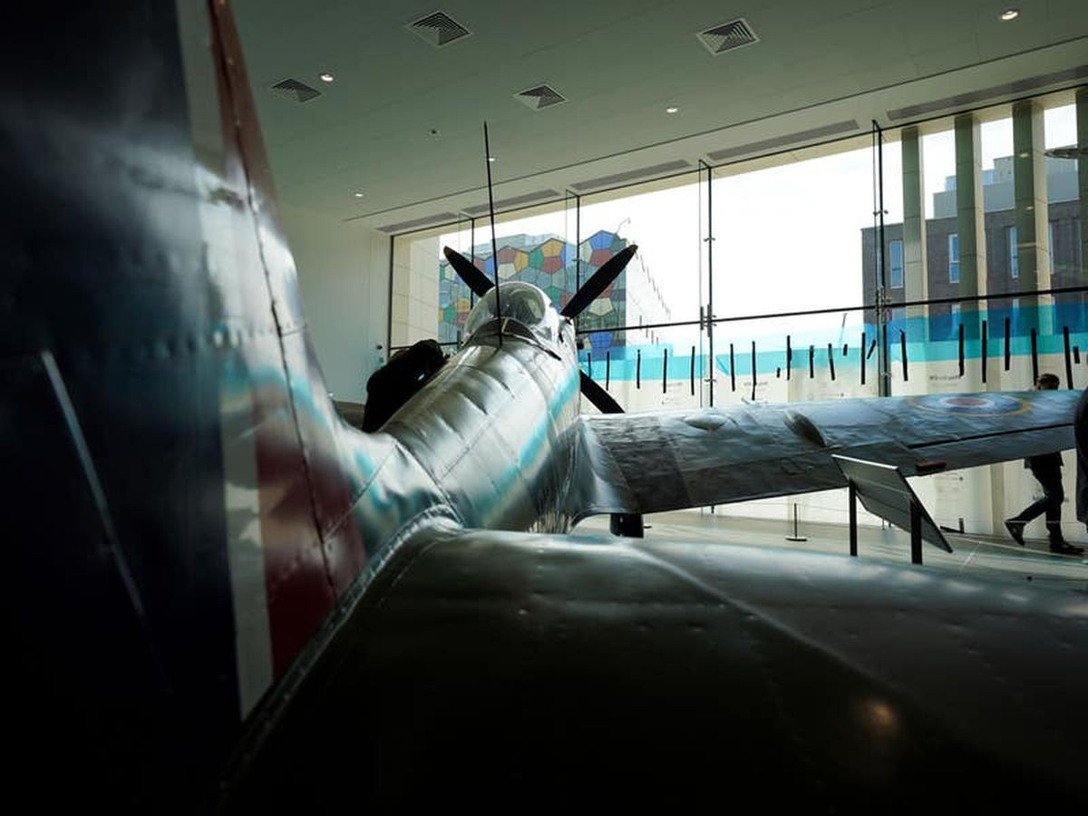City's historic Spitfire unveiled in £5.4m gallery after three-year restoration
