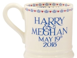 In Video: Mugs go on sale for Harry and Meghan's wedding