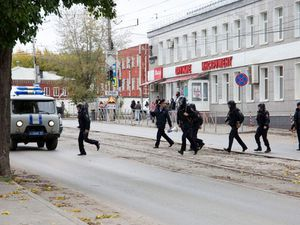 Eight dead after gunman opens fire at Russian university
