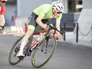 Picture By Peter Frankland. 07-07-19 Island Games 2019 Gibraltar. IG 2019. Mens criterium cycling. Winner - Sam Culverwell. (25165132)