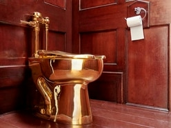 Three arrested in connection with theft of gold toilet from Blenheim Palace