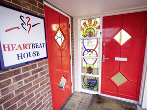 Picture by Sophie Rabey.  28-01-20.  A visit to Wessex Heartbeat House and Southampton General Hospital.  The Heartbeat house, situated a mere three-minute walk from the Hospital entrance, offers accomodation to people who are in Southampton to support their loved ones who are staying in the hospital with any cardiac related issues.  FRONT OF HOUSE. (27082617)