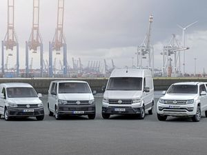 The Volkswagen Commercial vehicle range (22162957)