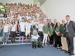 Island Games team is feted at vin d'honneur