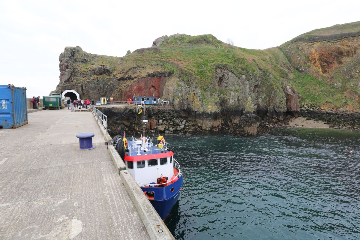 Sark Harbour (Picture by Guernsey Press, 29660594)