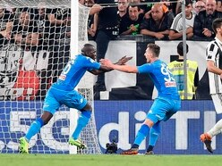 Watch Napoli's fans and players absolutely lose it after late winner at Juventus