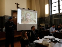Trial shown video of British model revisiting Italy kidnap sites