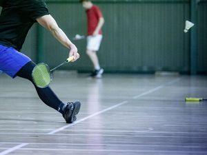 Picture By Peter Frankland. 27-11-20 Badminton Island Finals. Paul Le Tocq (28960521)