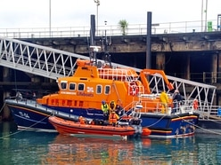 Inshore lifeboat arrives to bolster island's rescue fleet