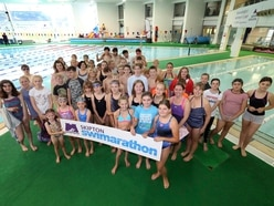 Swimarathon boosted by schools in the pool