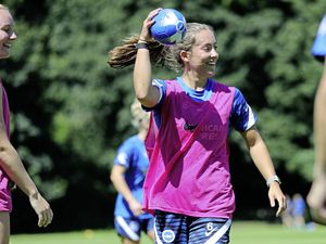 FOOTBALL Maya Le Tissier taking part in pre-season training at Brighton & Hove Albion, July 2021. Picture by Paul Hazlewood / BHAFC (29809636)