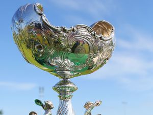 What the fuss is all about: The century and a quarter old Muratti Vase trophy went unpresented in 2020, will be it be handed over this summer?(29375766)