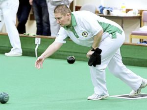 Still the queen of CI women's bowls: Alison Merrien won three titles, including a 13th singles crown. (Picture by Adrian Miller)