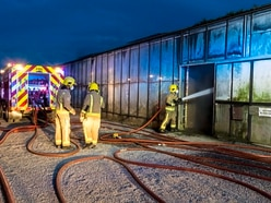 Fire breaks out at greenhouse party