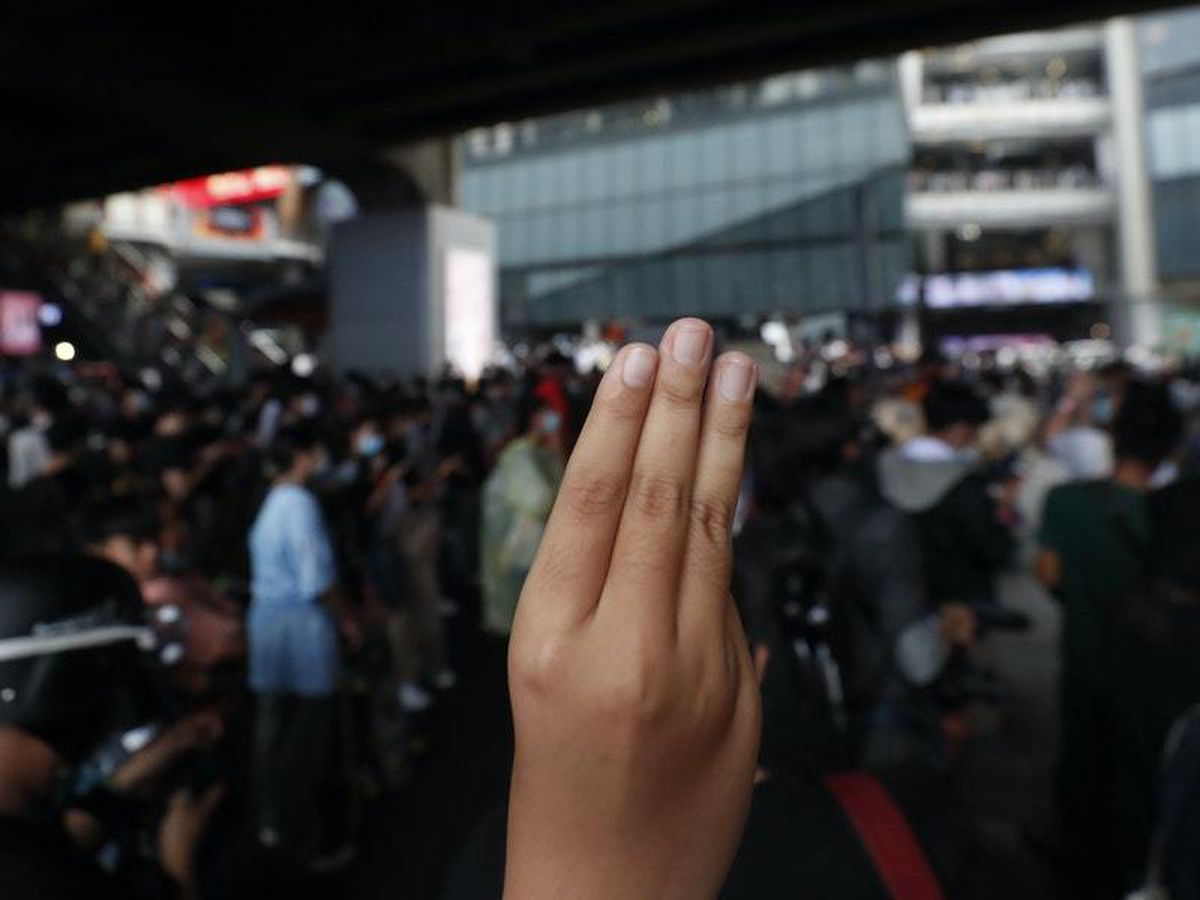 Thai students charged with royal defamation law ahead of demonstration
