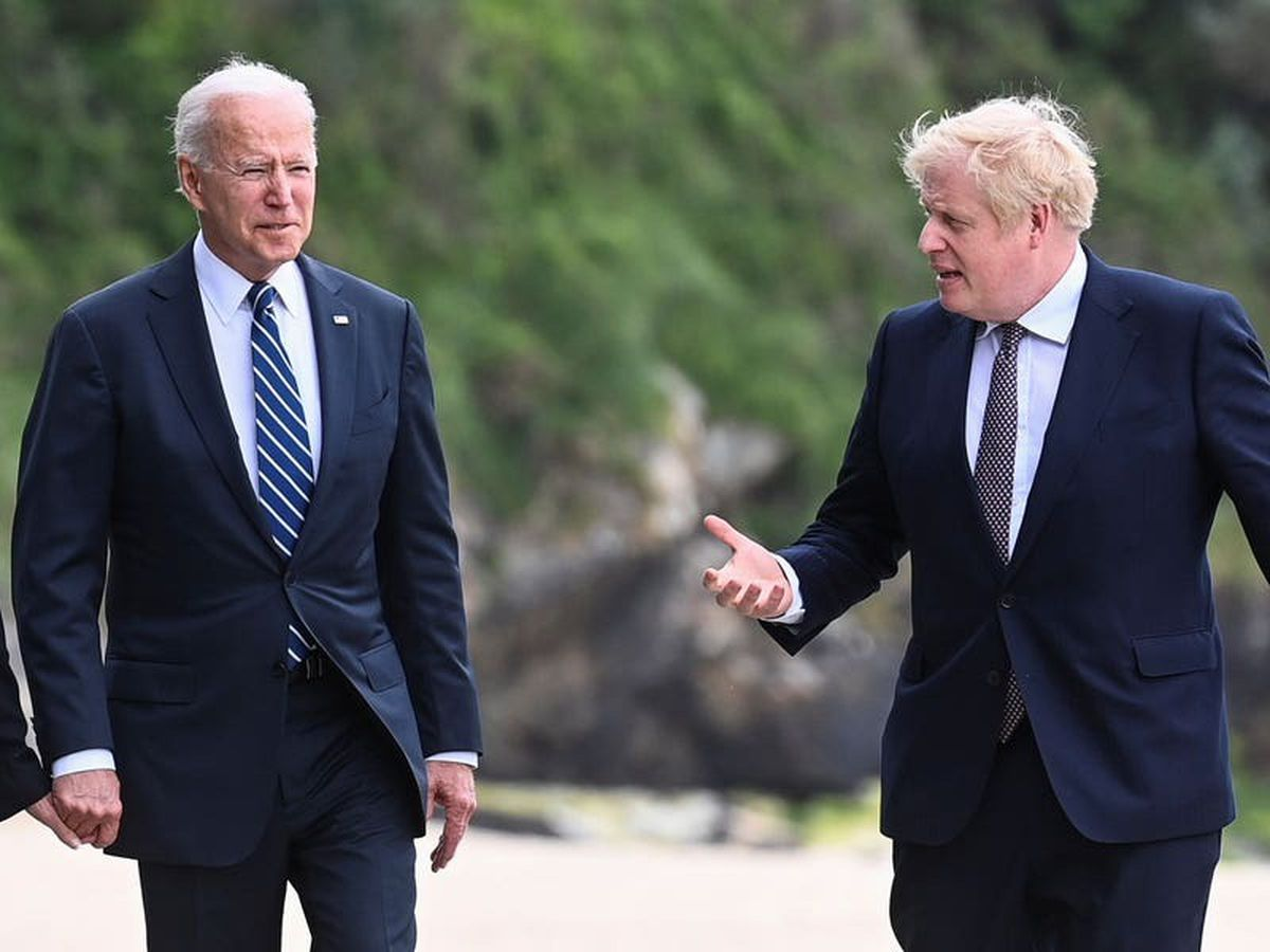 Johnson says he is 'not going to disagree' with Biden at their first meeting