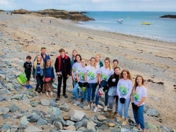Islanders out in force at weekend for beach cleans