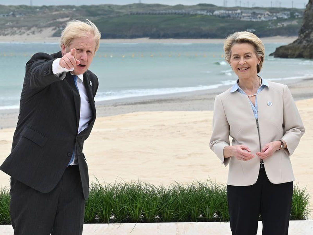 Johnson to meet EU's key players amid Brexit storm
