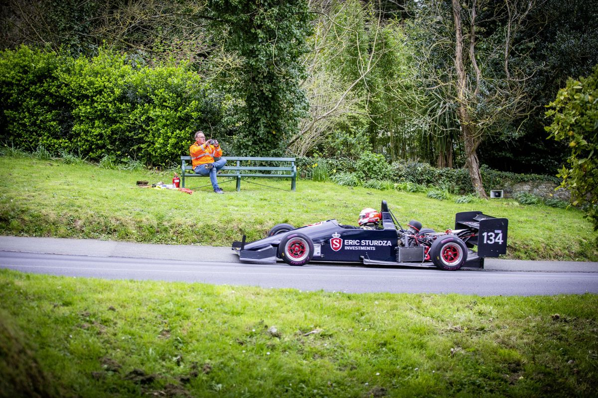 Nick Saunders clocked the fastest time of the day. (Picture by Sophie Rabey, 29403679)