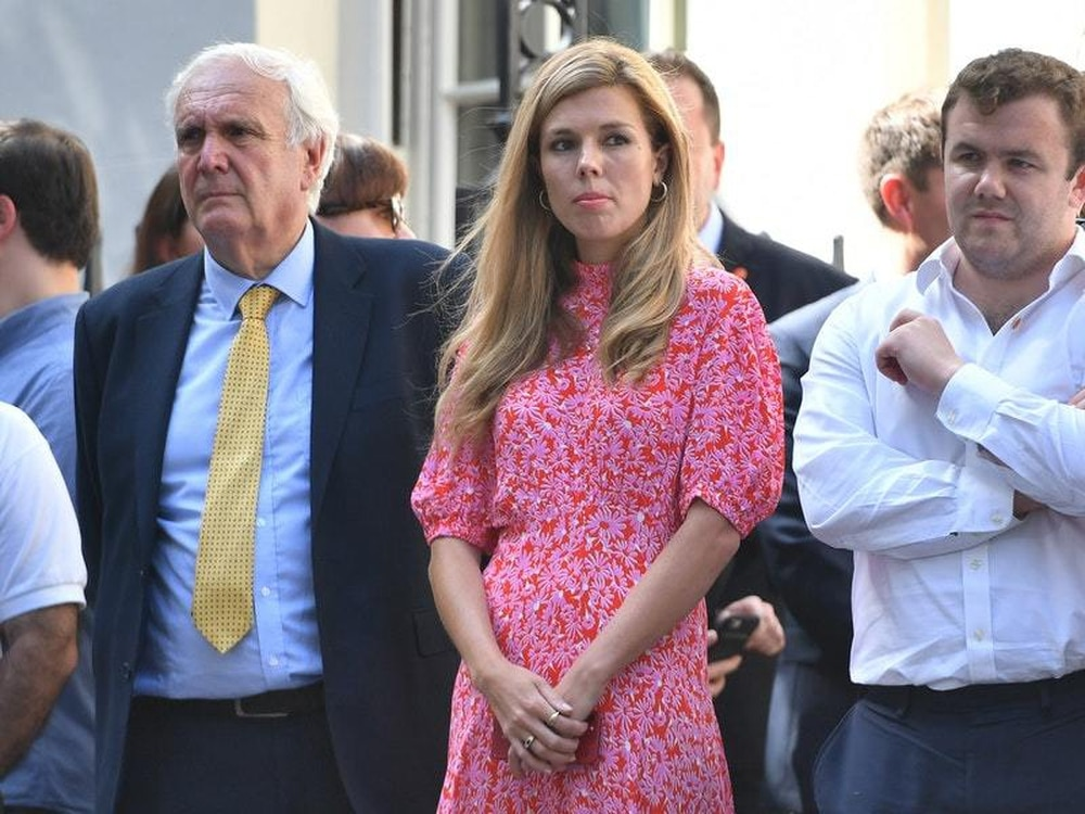 In Video Who Is Carrie Symonds The Prime Minister S Girlfriend