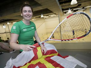Satisfied silver-medallist: Natalie Dodd says to reach the final was a bonus.