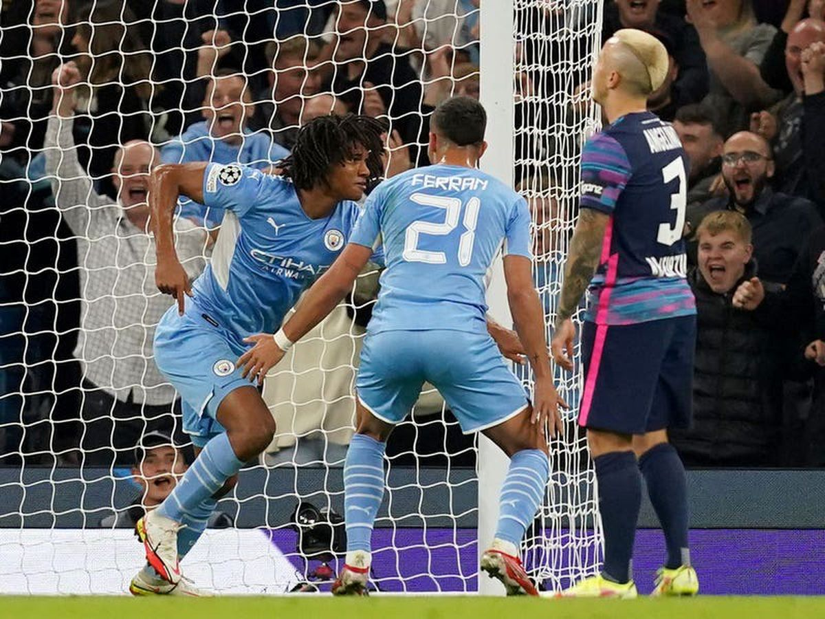 Nathan Ake dedicates goal against Leipzig to his father who died during match