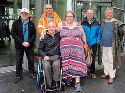 Silent protest over disability strategy delay