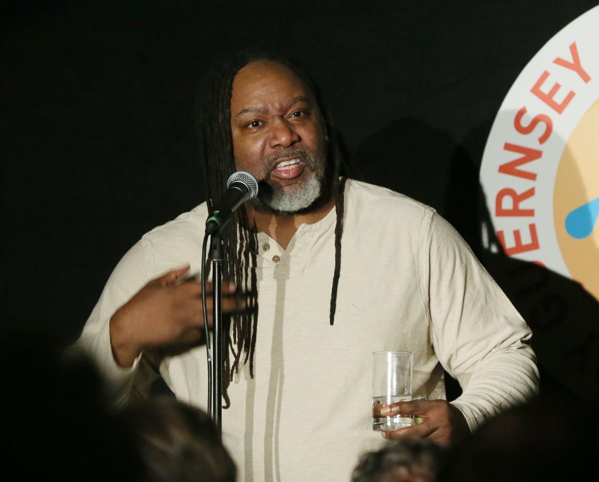 Reginald D Hunter at the Sure Comedy Festival. (Picture by Adrian Miller, 29544833)