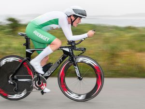 Pic supplied by Andrew Le Poidevin: 10-06-2018..Guernsey Velo Club 25 mile Time Trial.. (28344719)