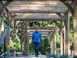 Saumarez Park oak pergola is in memory of former care home owner