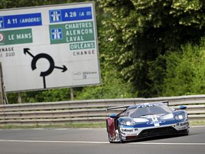 Andy Priaulx's No. 67 Ford GT at the world-famous Circuit de la Sarthe in France. (Picture by Nick Duggan, Drew Gibson Photography, 21695843)