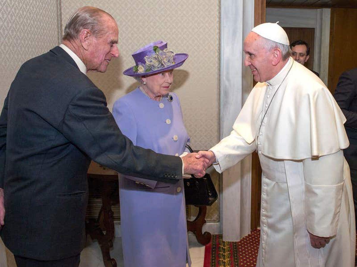 Pope praises Duke of Edinburgh's 'distinguished' public service