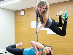 Pole dancing to yoga at health show