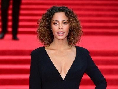 Rochelle Humes celebrates marathon run with 'mac and cheese'