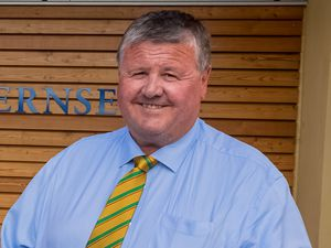 Outgoing GCB chairman David Nussbaumer. (28875190)
