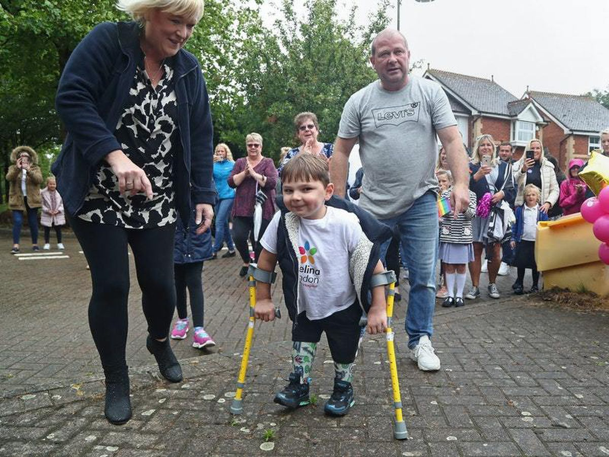 Million-pound fundraiser, six, receives Pride Of Britain award from Ant and Dec