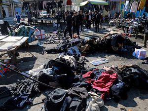Islamic State claims deadly twin blasts in Baghdad