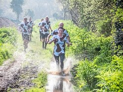 Mother's Day fun for some was muddy run