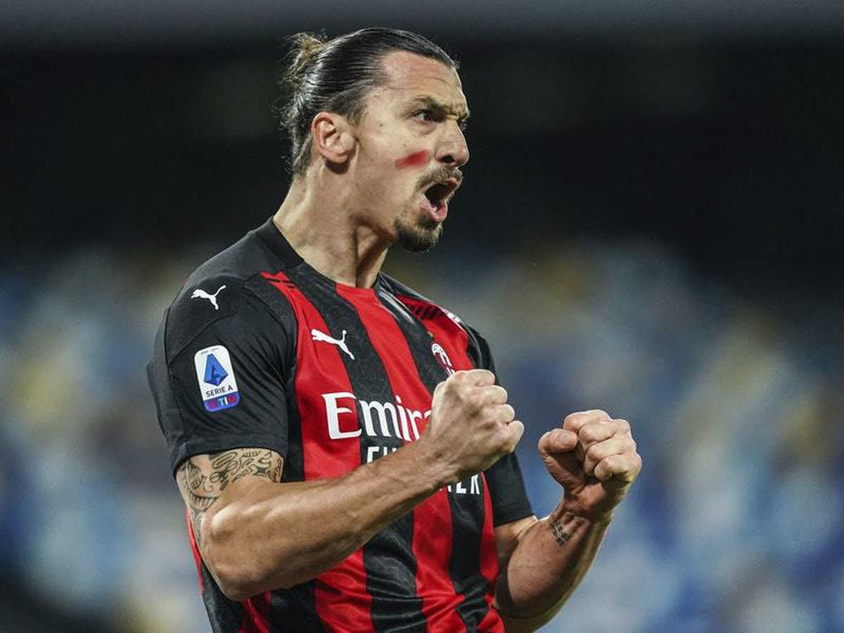Zlatan Ibrahimovic bags a brace as AC Milan beat Napoli to stay top of Serie A