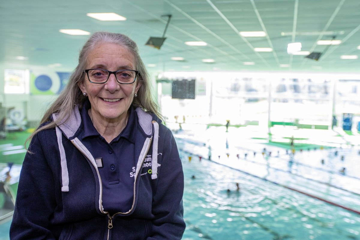 After 30 years as a teacher for the Beau Sejour Swim School, Jackie Nicolle has retired. (Picture by Sophie Rabey, 29442462)