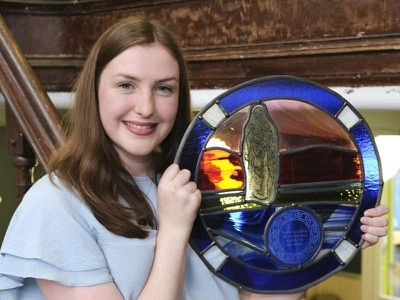 Young singer named Gaelic ambassador of the year